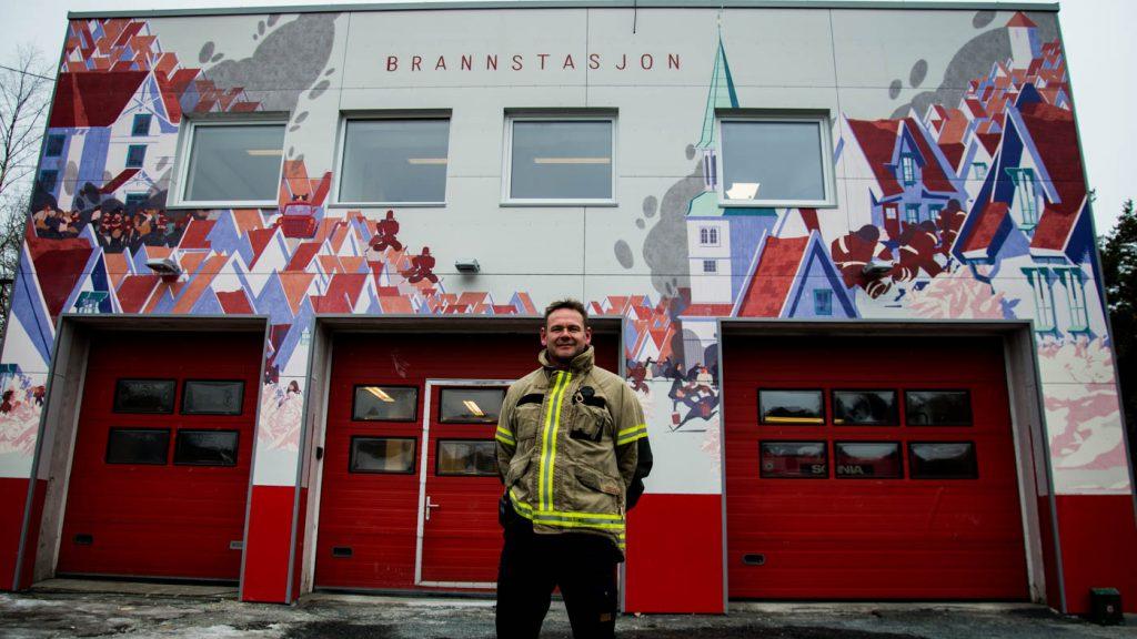 Brannstasjon Risør - Point Design