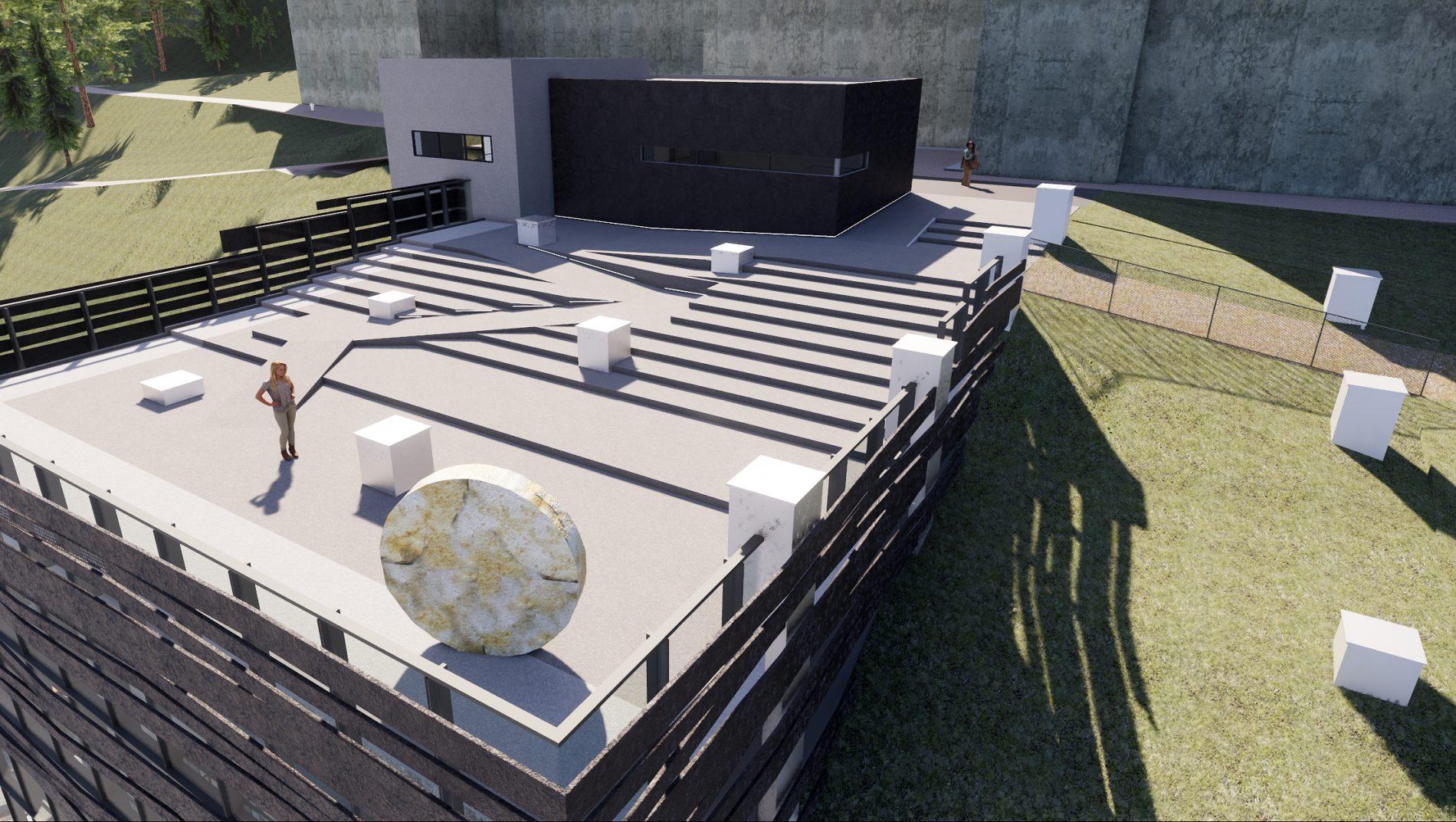 Tungtvannskjeller Vemork - Museumsbygg - Point Design