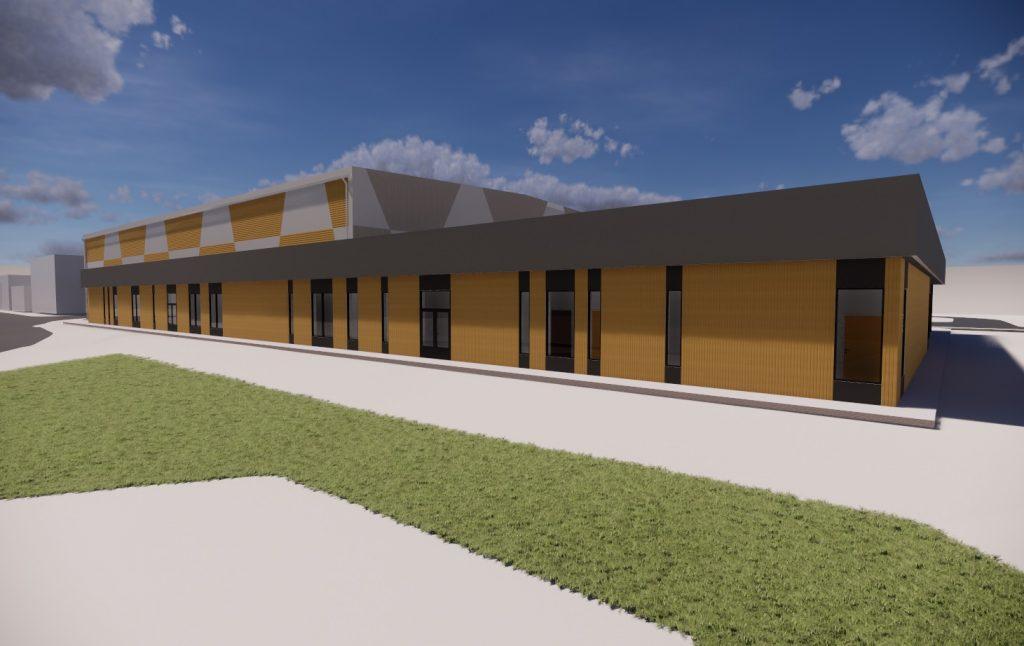 Idrettshall ved Lunde Barneskole, Skien
