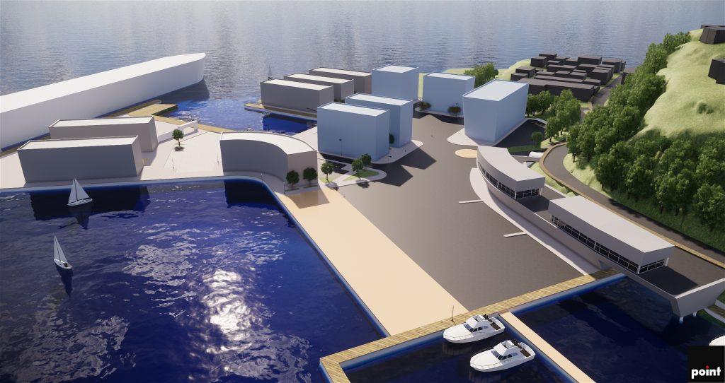Kragerø Havn, områdeutvikling