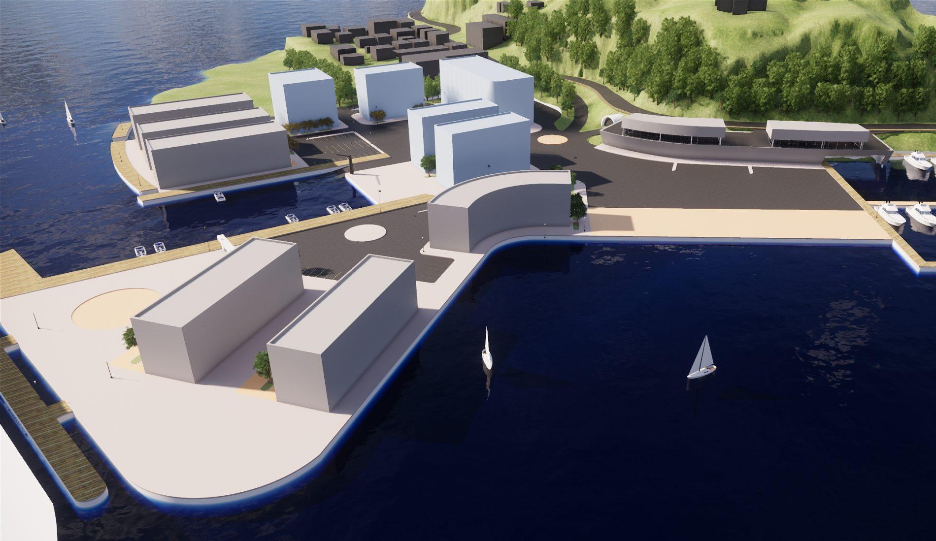 Kragerø Stilnestangen - Områdeutvikling - Point Design