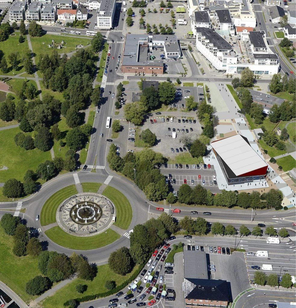Black Box Sandefjord - Kulturbygg - Konsept - Point Design