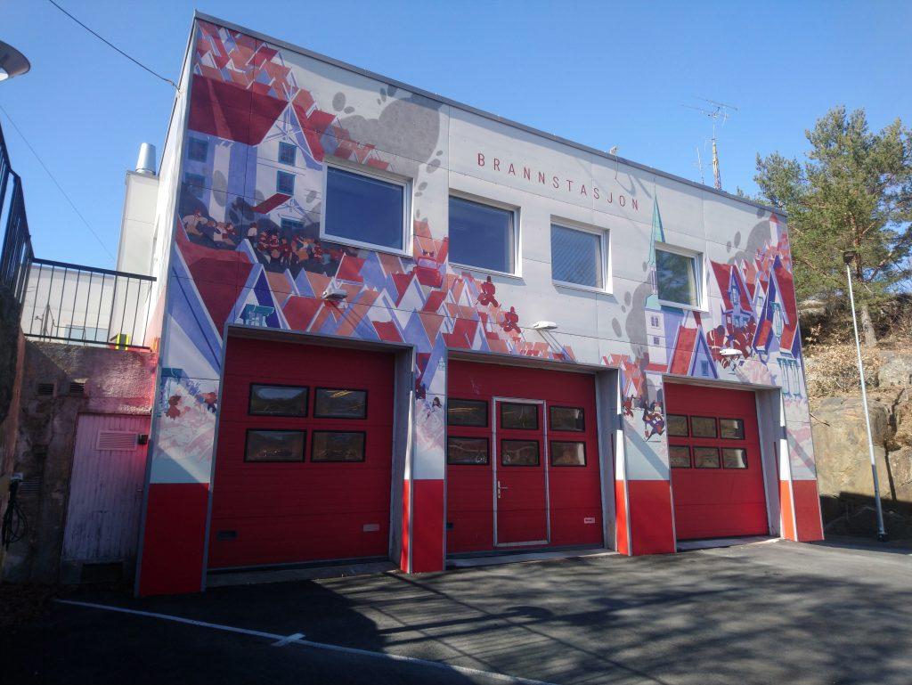 Risør brannstasjon