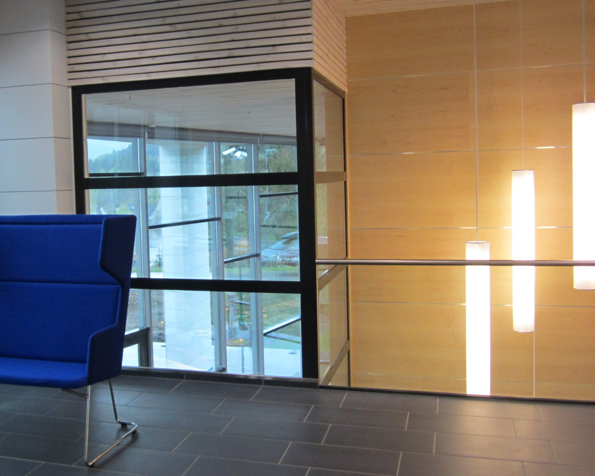 Notodden Energi - Nybygg - Interiør - Point Design