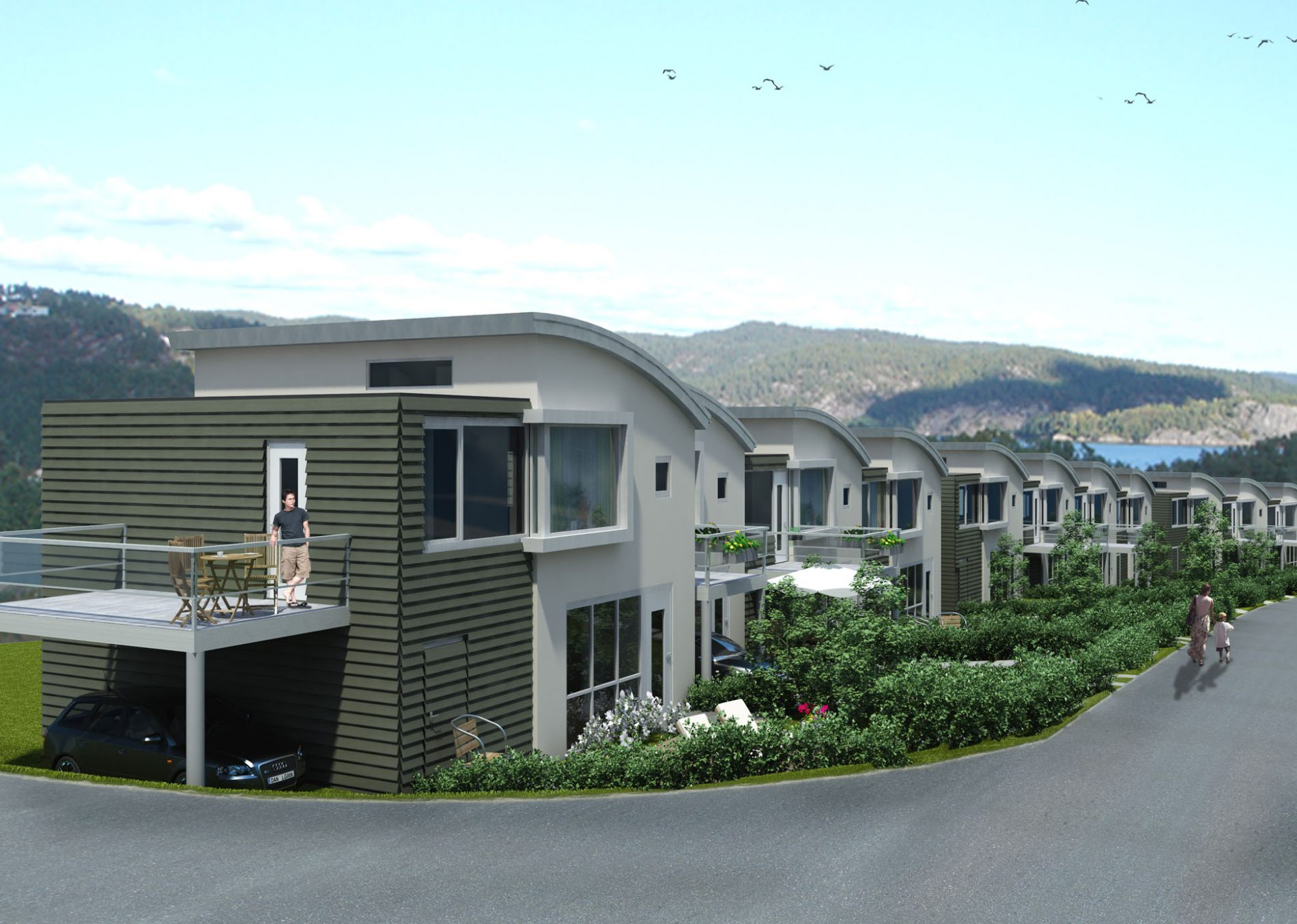 Justneshalvøya Kristiansand - Boliger - Point Design
