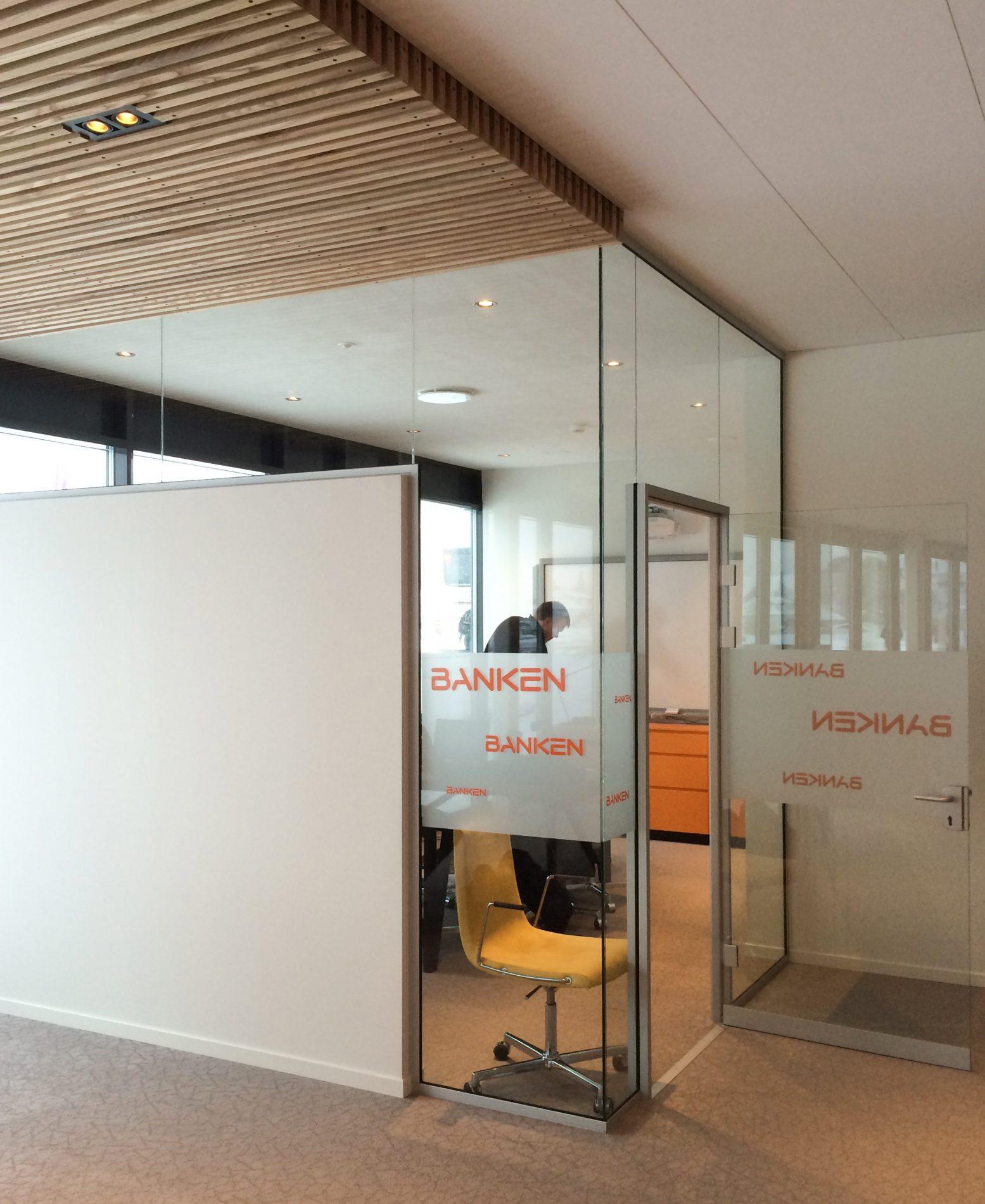 Lyngdal Sparebank Næringshage - Interiør - Point Design