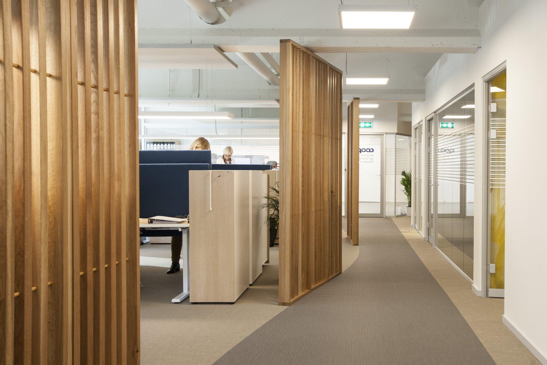 Kontorlokaler COOP Sandefjord - Point Design