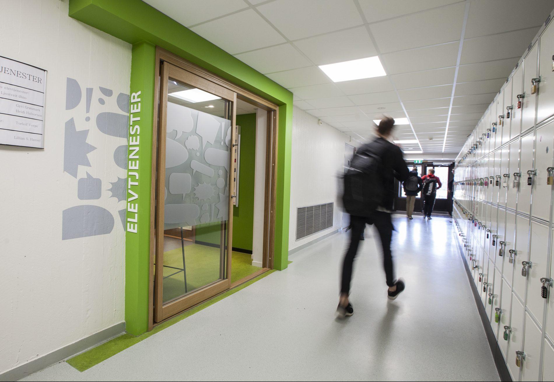 Porsgrunn videregående skole - Interiør - Point Design