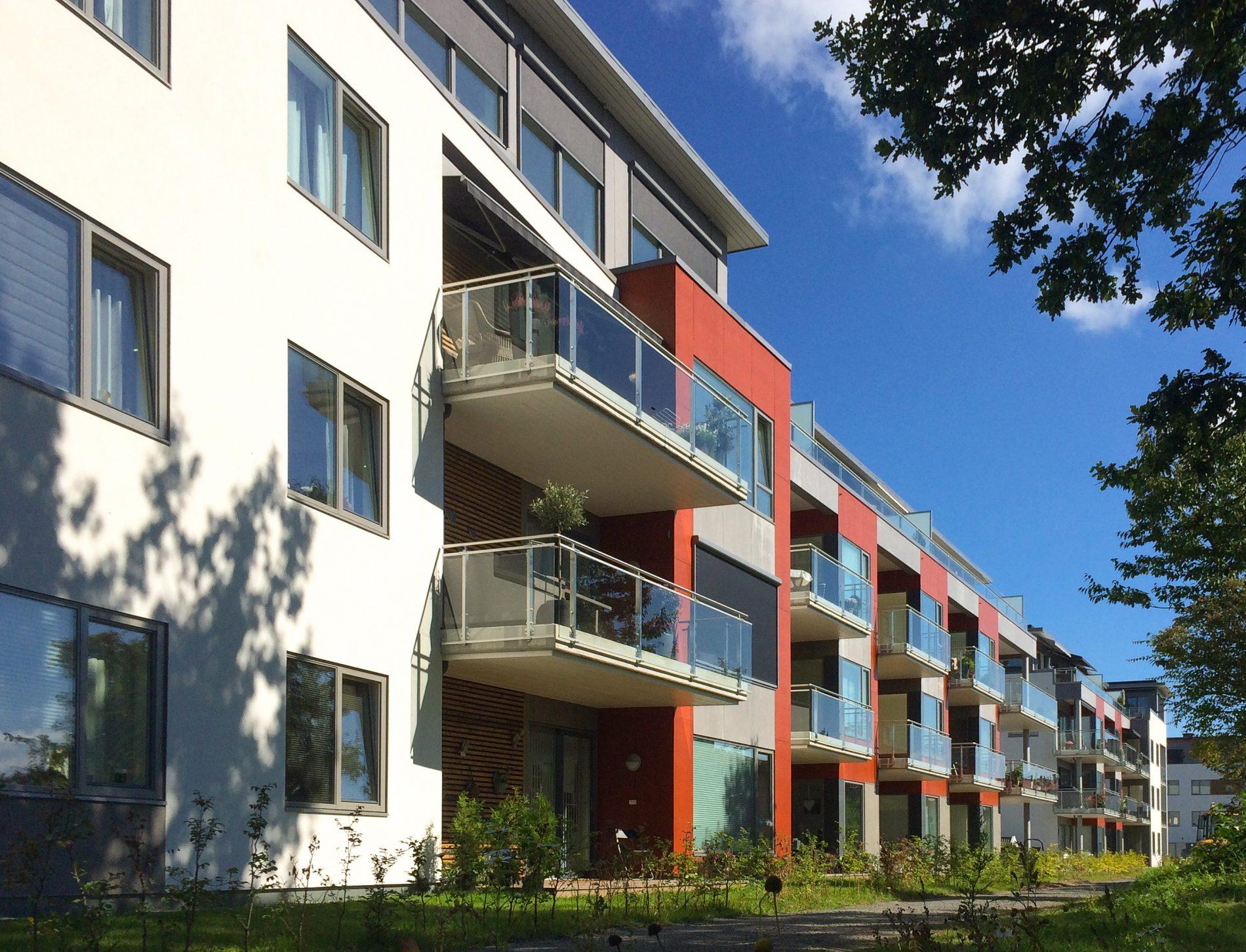 Gimleveien i Kristiansand: 90 leiligheter og parkering