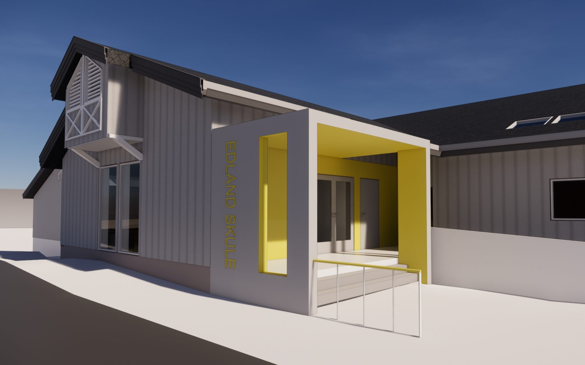 Edland Skule - Rehabilitering - Point Design