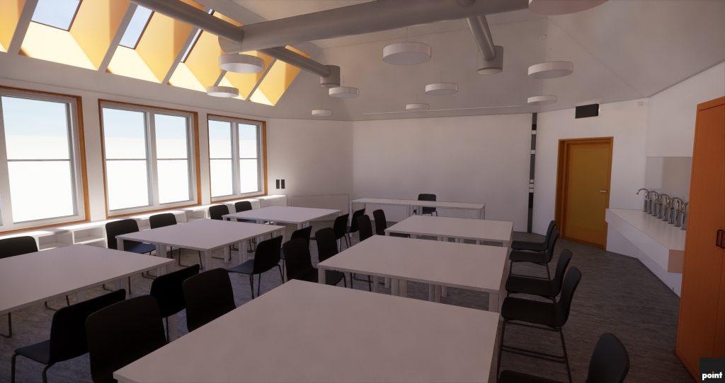 Lunde Barneskole Skien - Rehabilitering - Point Design