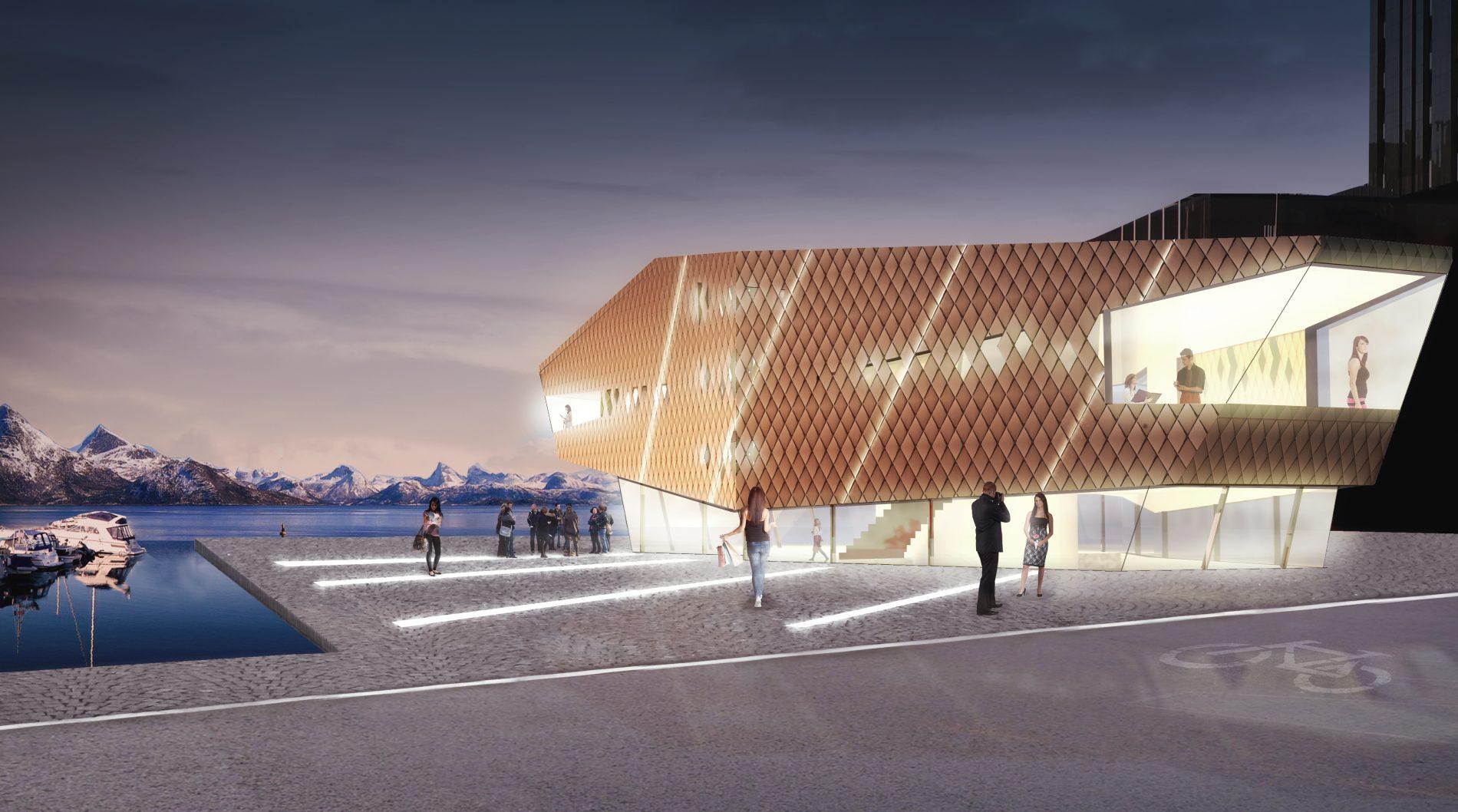 Mathavna Bodø - Konsept - Point Design