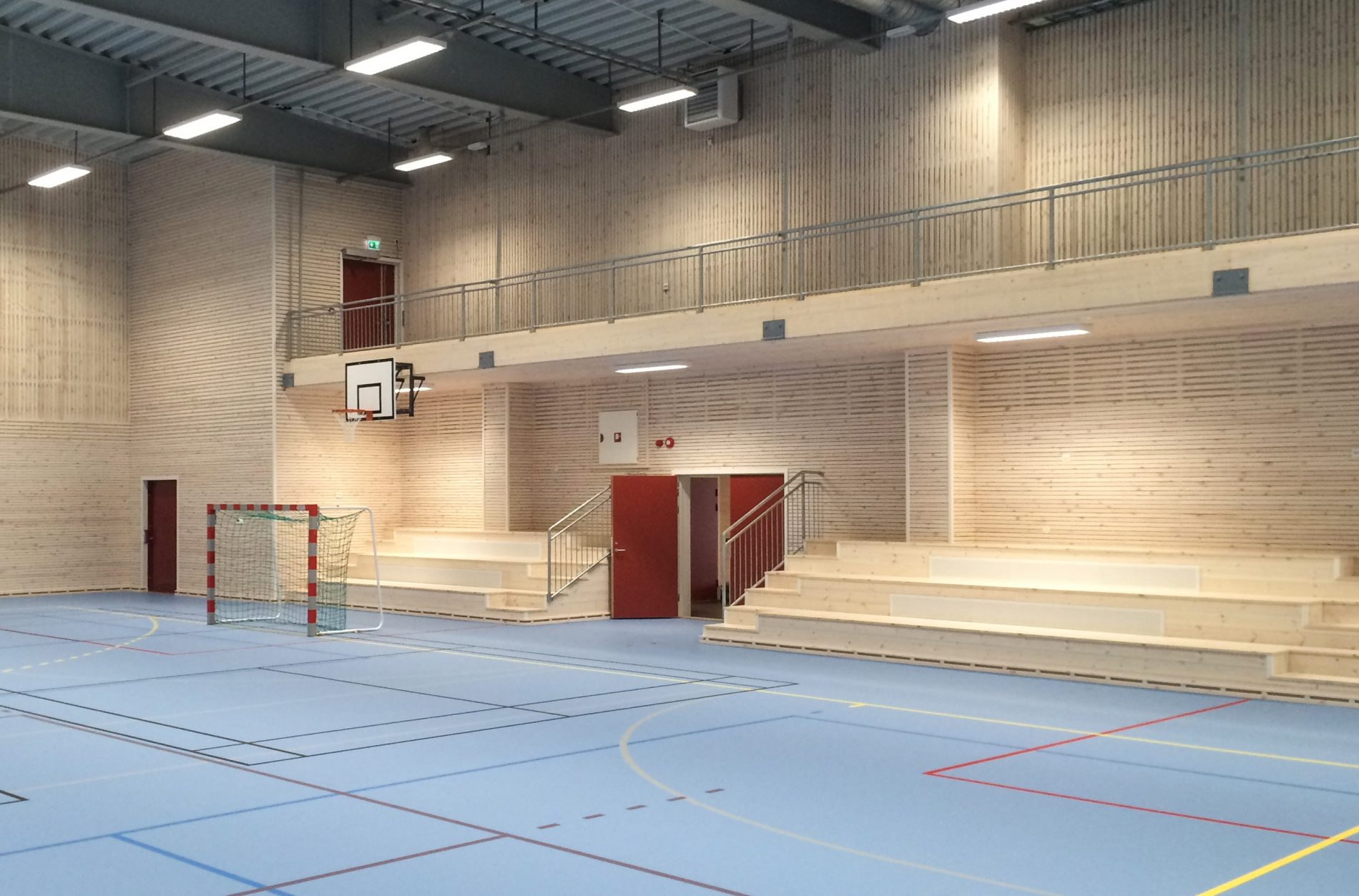 Bygland Idrettshall - Point Design