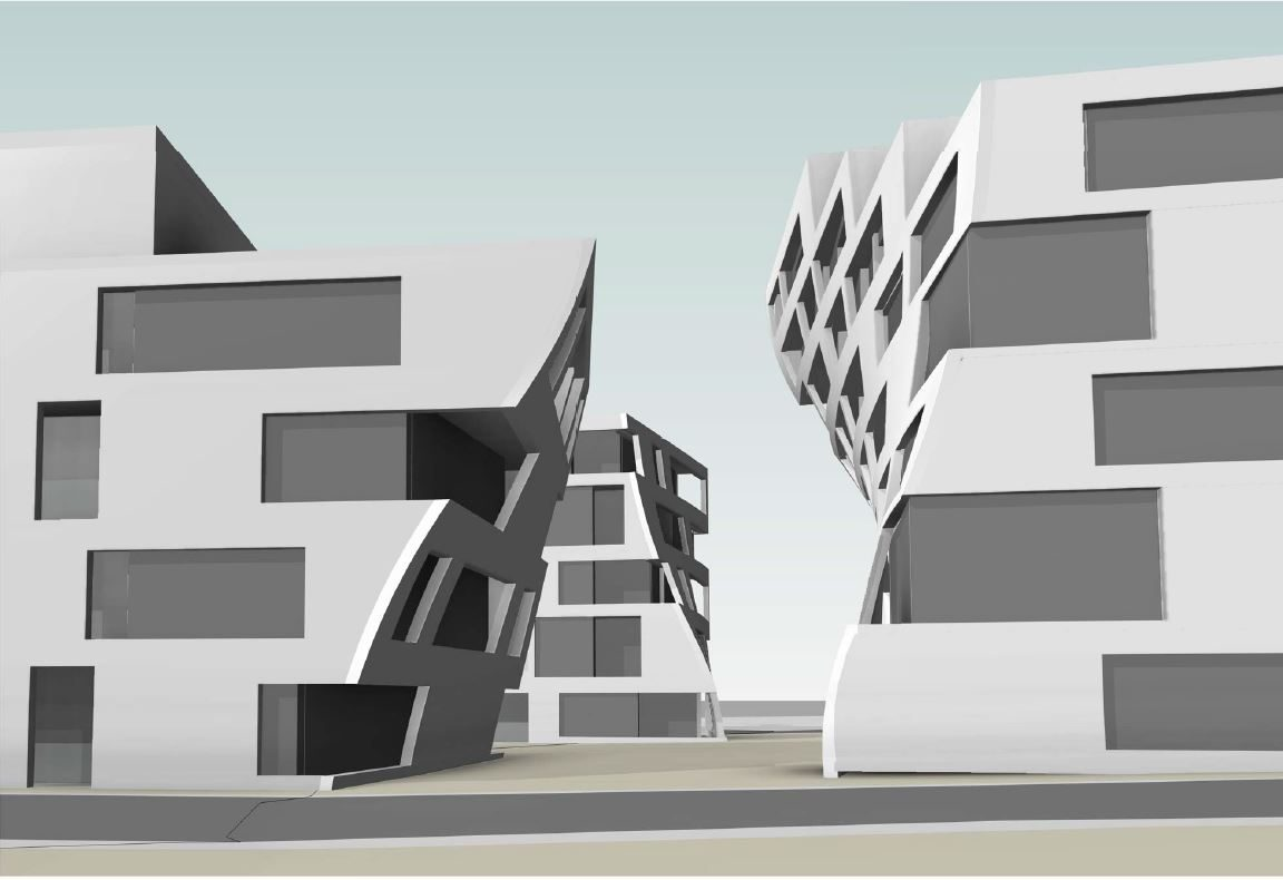Dronningensgate Sandefjord - Leiligheter - Konsept - Point Design