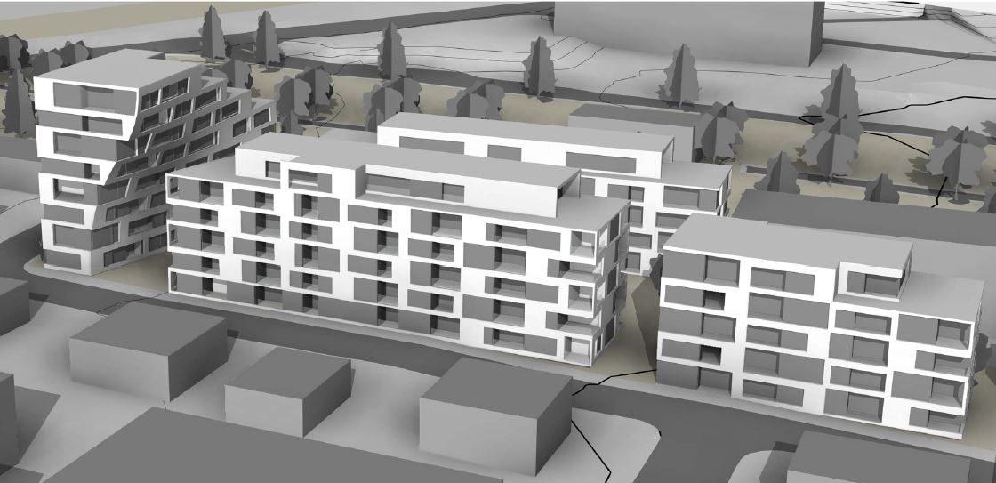 Dronningensgate i Sandefjord: leiligheter og parkering