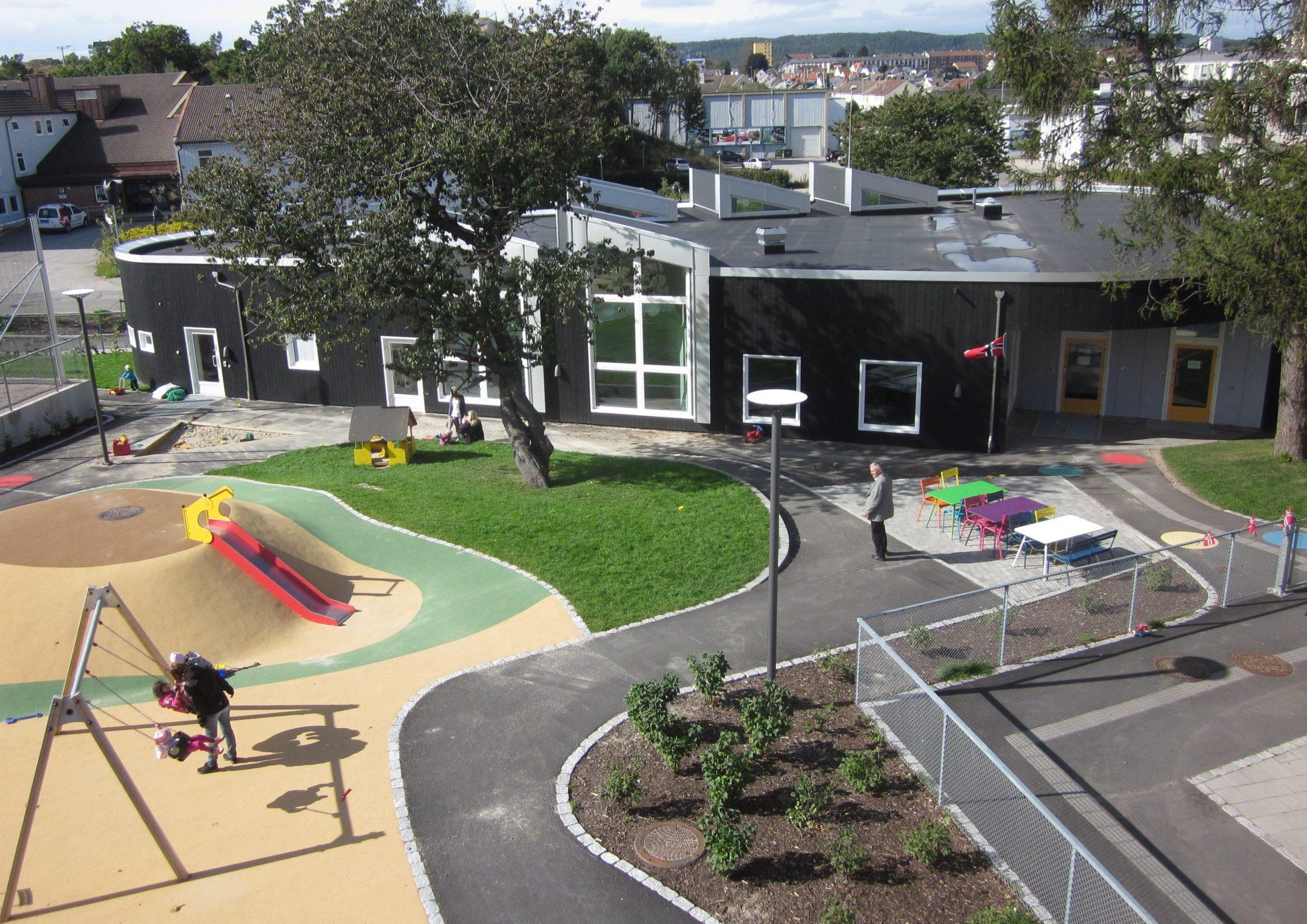 Roligheden Barnehage Samfunnshus Kristiansand - Point Design
