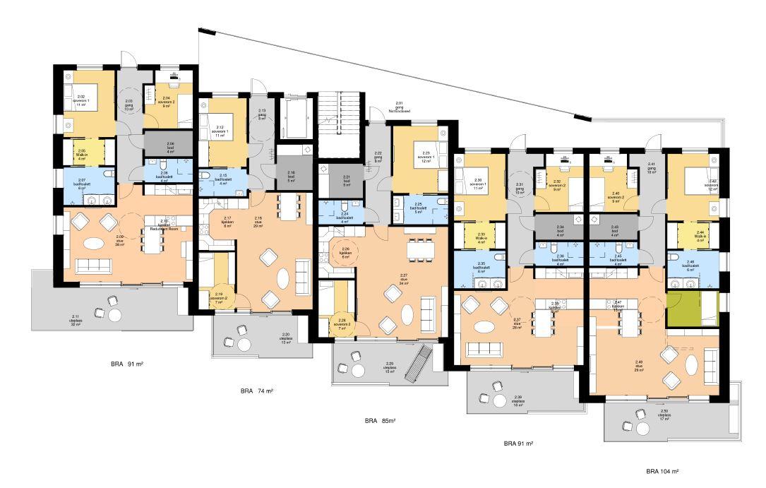 Leiligheter i Bø Telemark - Point Design