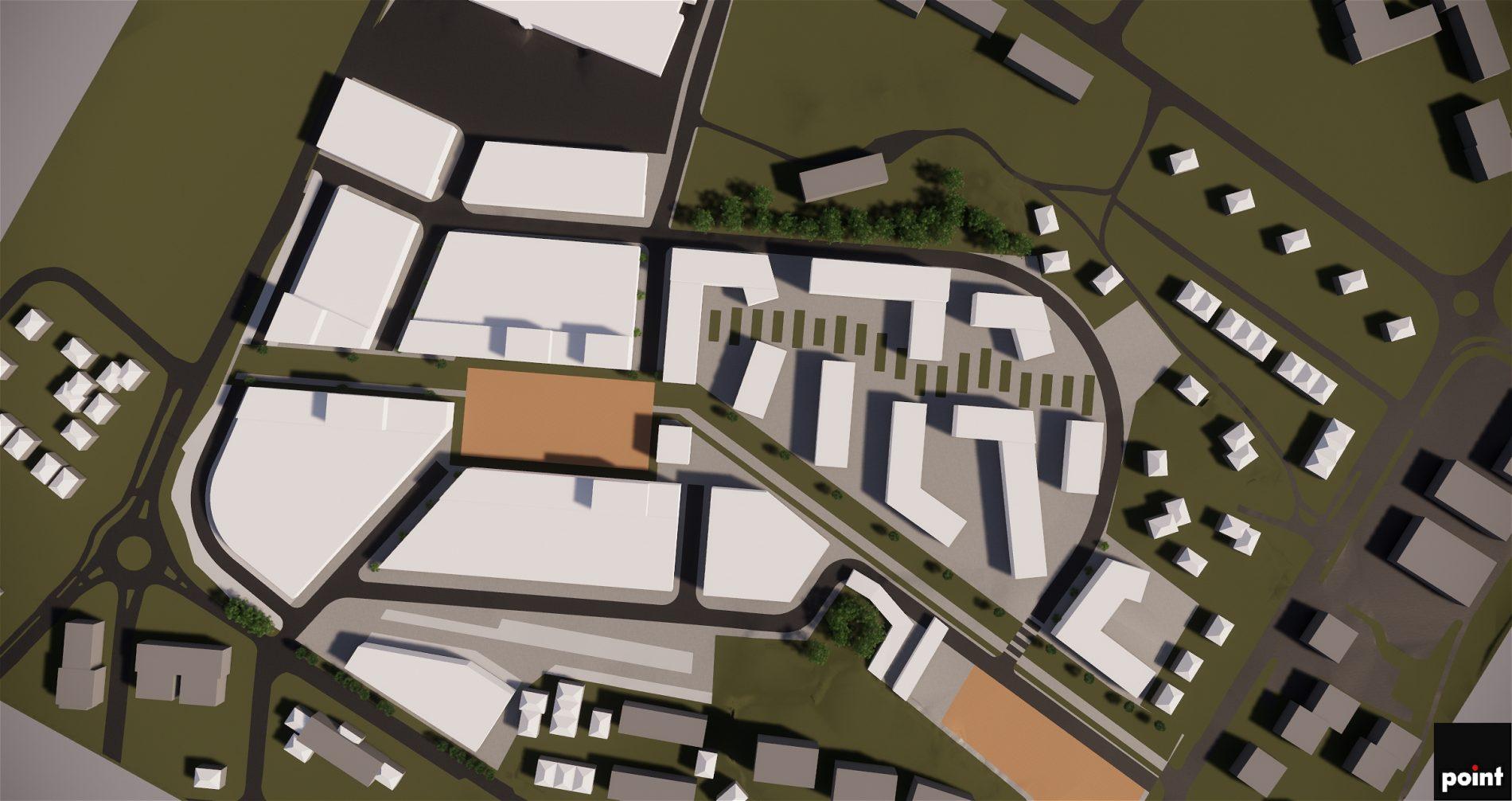 Hovlandbanen i Larvik: områdeutvikling med regulering