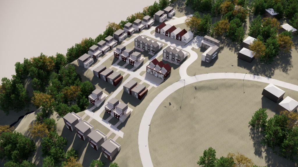 Harelabben boligområde Mjøndalen - Point Design