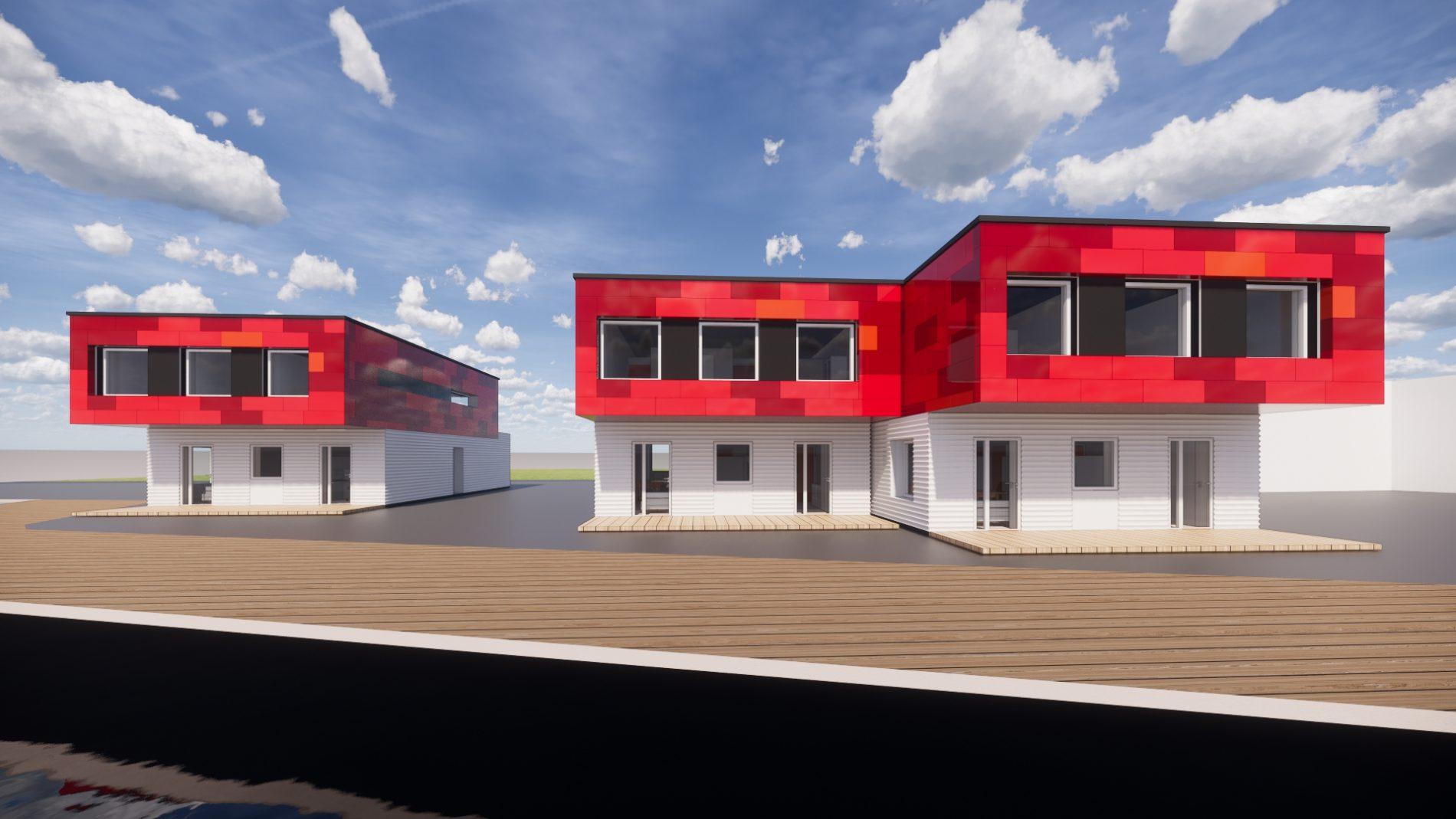 Nytt losbygg i Langesund