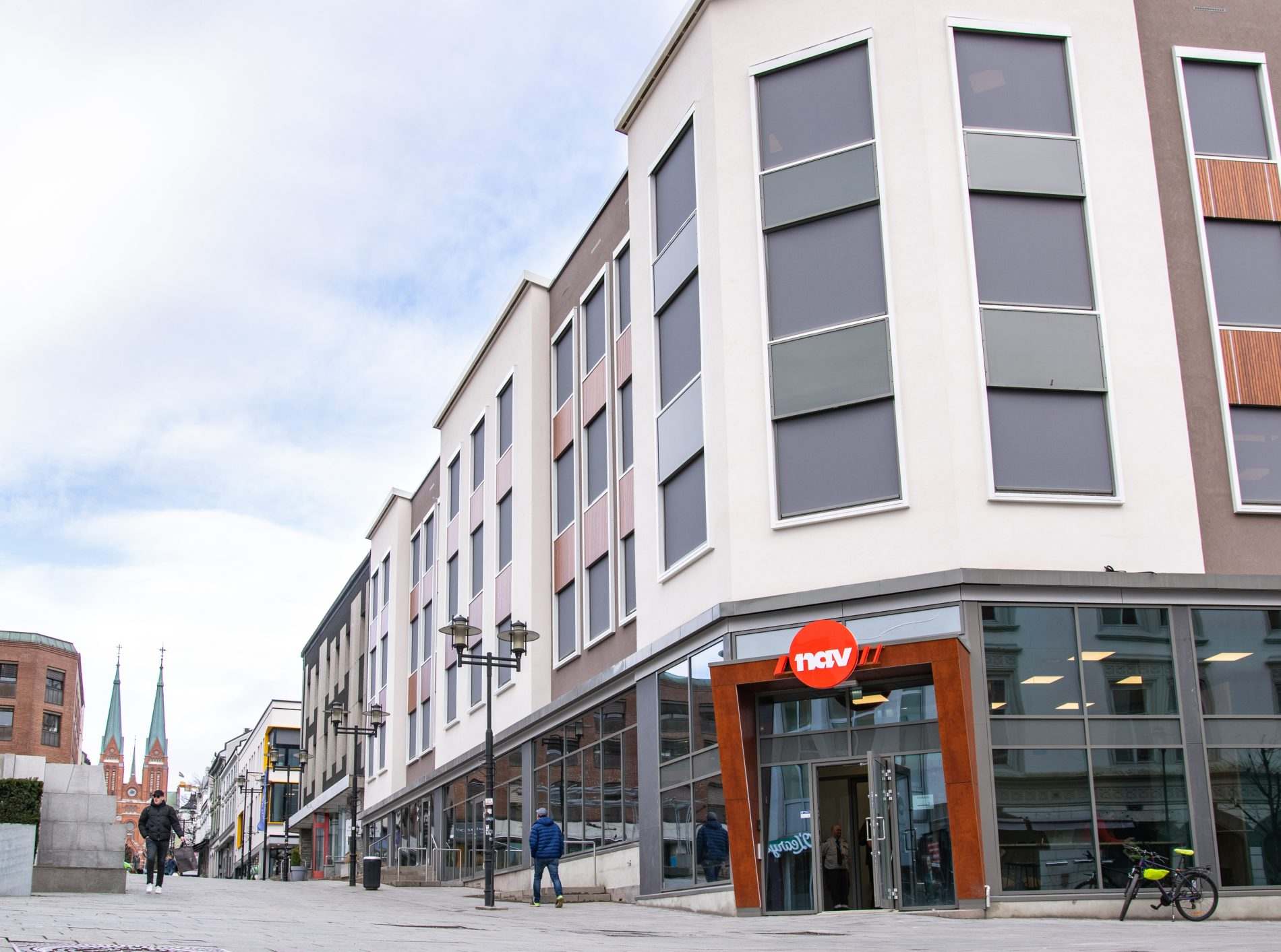 Eeks Gård i Skien sentrum