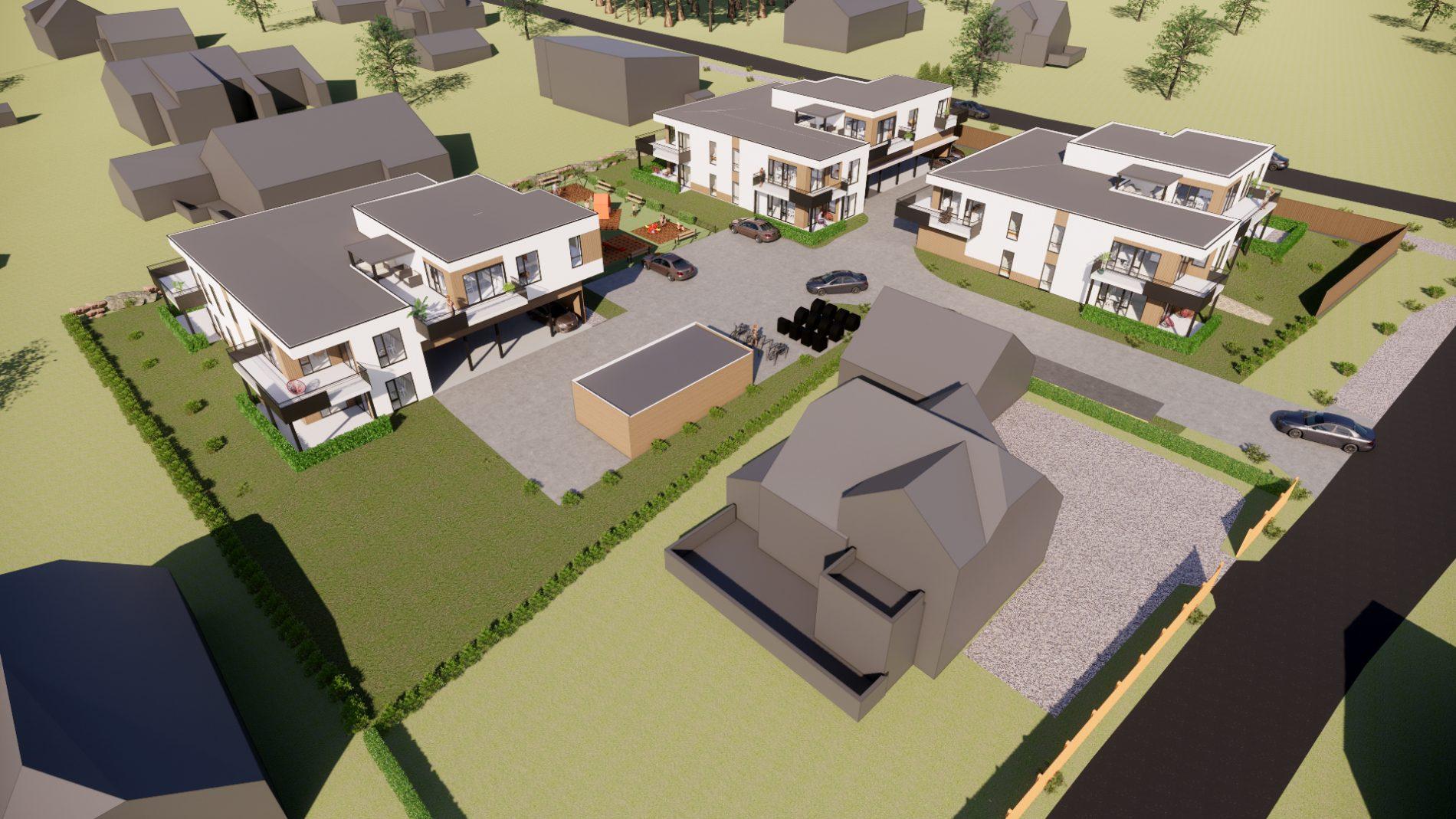 Urbane villabygg på Søndersrød i Larvik