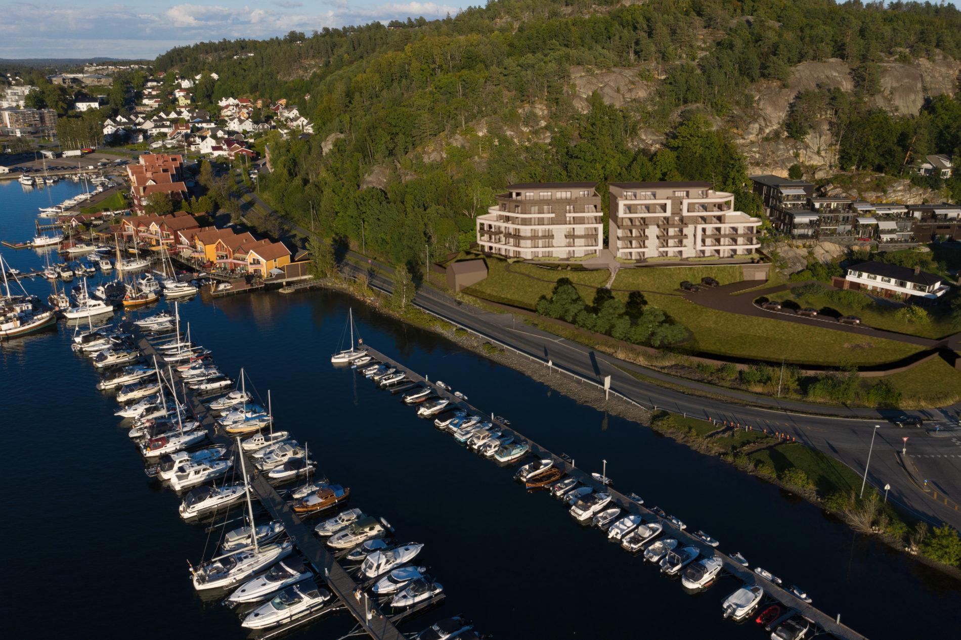 Fjeldvig i Sandefjord: Sjønært med panoramautsikt